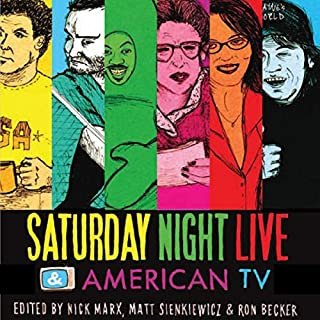 Saturday Night Live and American TV audiobook cover art
