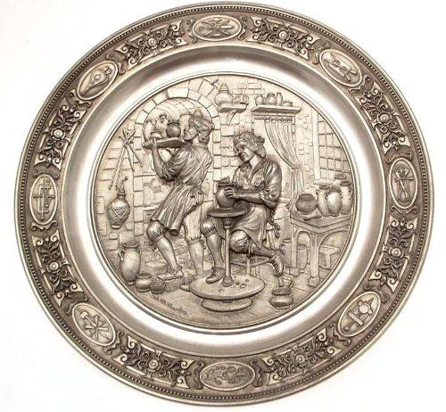 The Bradford Exchange C1990SKS tradionelles Handwerk der Topfer Traditionelle Handwerk die Potter tn169