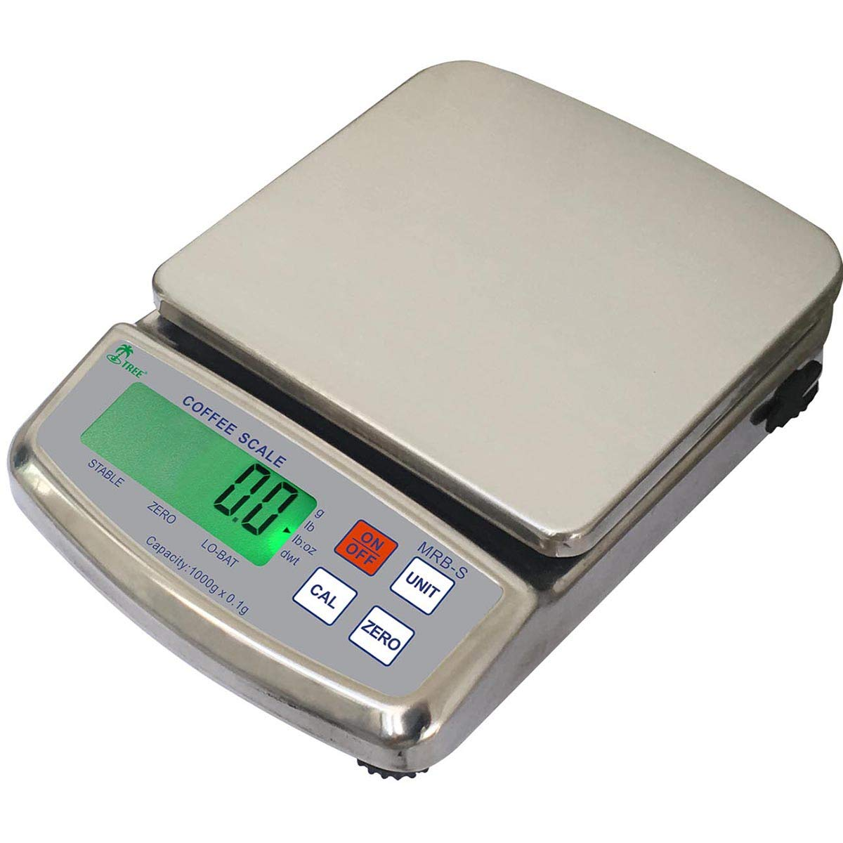 LW Bargain sale MRB-S 1000 Stainless Steel Balance g Resolution New Shipping Free Mid x