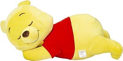 MORIPiLO モリシタ くまのプーさん 抱き枕 イエロー 添い寝枕 ディズニー 45×20×25cm