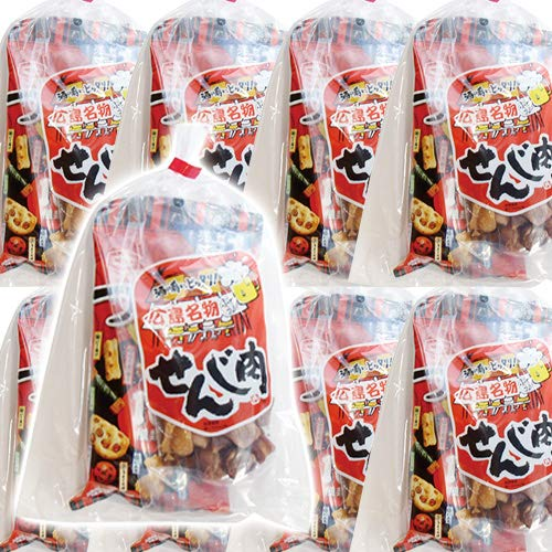 広島名物!せんじ肉入りおつまみお菓子袋詰め A 20袋セット 詰め合わせ 駄菓子 おかしのマーチ