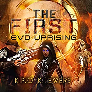 EVO Uprising audiobook cover art
