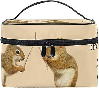 Buy Stylish Modern Minimalist Atmospheric Beautifu Inspirational Quote With Squirrles Ans Wishbone Large Cosmetic Bag Trav...