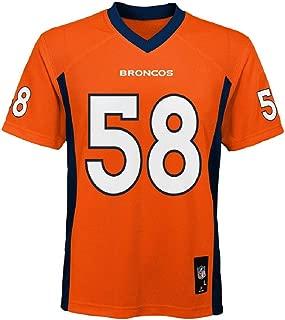 Von Miller Denver Broncos NFL Kids Orange Home Mid-Tier Jersey