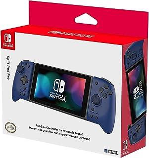 Hori Nintendo Switch Split Pad Pro (Blue) Ergonomic Controller for Handheld Mode - Officially Licensed By Nintendo - Ninte...