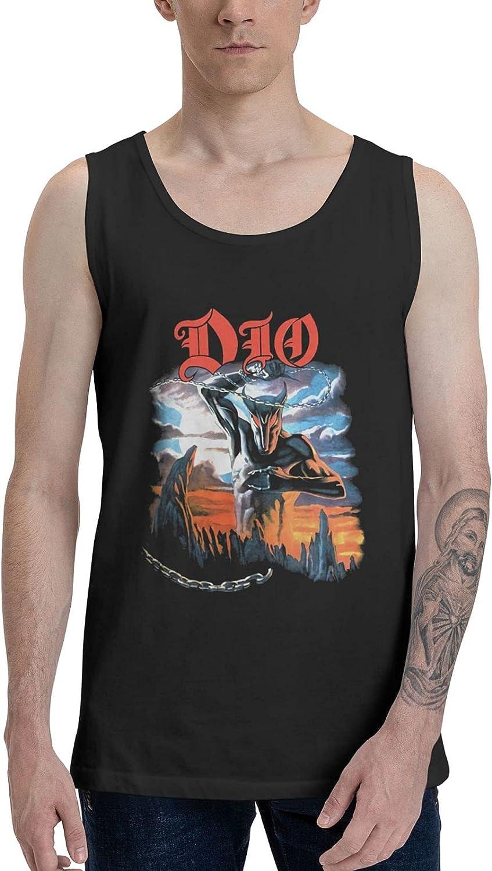 Dio Holy Diver Tank Top Boys Summer Sleeveless Tee Stylish Vest
