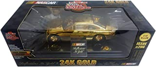 Racing Champions 1999 Nascar Sterling Marlin #40 John Wayne 1:24 Scale 24K Gold Plated Diecast Car