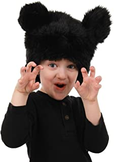 elope Black Bear Plush Hat