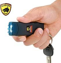 Guard Dog Security Hornet World's Smallest Stun Gun Keychain with Mini LED Flashlight – Mini Stun Gun – Personal Defense Equipment – Rechargeable Stun Gun – with Carry Case