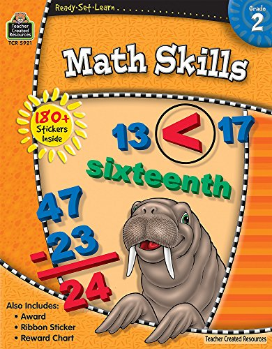 Ready-Set-Learn: Math Skills, Grade 2 from Teacher Created Resources