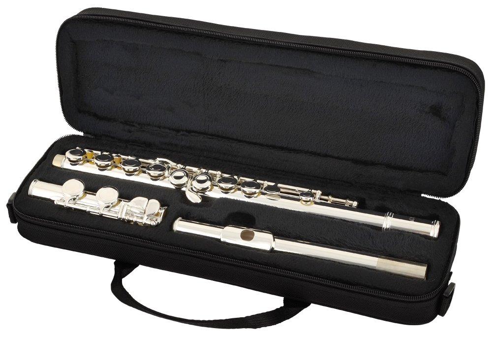 Nuova FL3ES - Flauta travesera con funda y borrador: Amazon.es: Instrumentos musicales