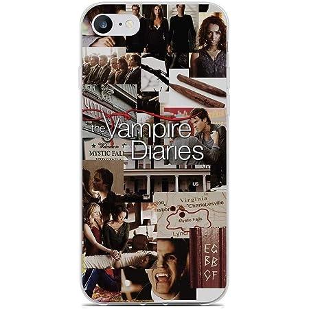 Transparent Soft Gel Edge Back Case Compatible for Apple iPhone 6/6s Plus-Vampire-Diaries 7