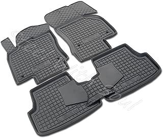 Avto-Gumm Fully Tailored Rubber/Set of 5 Car Floor Mats Carpet for SEAT Leon 5 Doors (3rd gen) 2013—2019