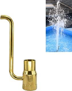 Thaoya Brass Column Fireworks Water Fountain Nozzle Sprinkler Spray Head Pond (G1)