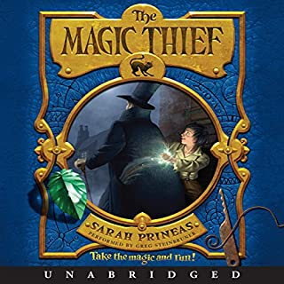 The Magic Thief audiobook cover art