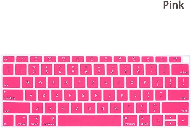 Cubierta de teclado para ordenador portátil de silicona suave ...