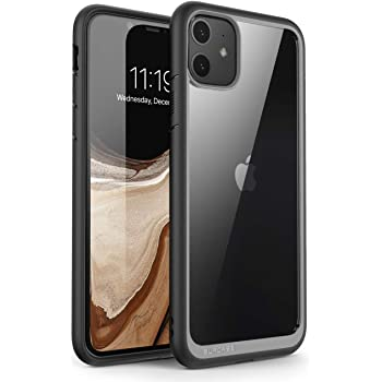 SUPCASE Unicorn Beetle Style Series - Carcasa híbrida para iPhone 11 de 6,1 Pulgadas (2019 lanzamientos),Negro