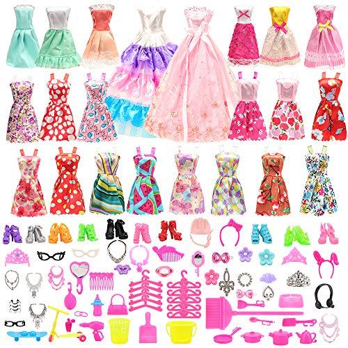 Miunana 125 Accesorios: 13 Fashion Vestidos + 2 Ropas + 110