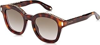 نظارة شمسية GV 7070/S HA 086 للنساء من جيفنشي، هافان/ بني قاتم، 50