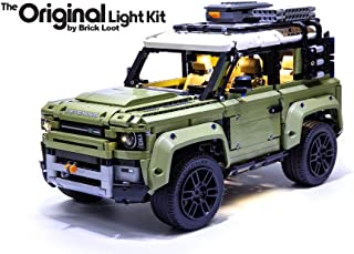 Brick Loot Deluxe LED Light Kit for Your Lego Land Rover Defender Set 42110 (Lego Set Not Included)