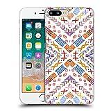 Head Case Designs Oficial Monika Strigel Orange Eco Feliz Carcasa rígida Compatible con Apple iPhone 7 Plus/iPhone 8 Plus