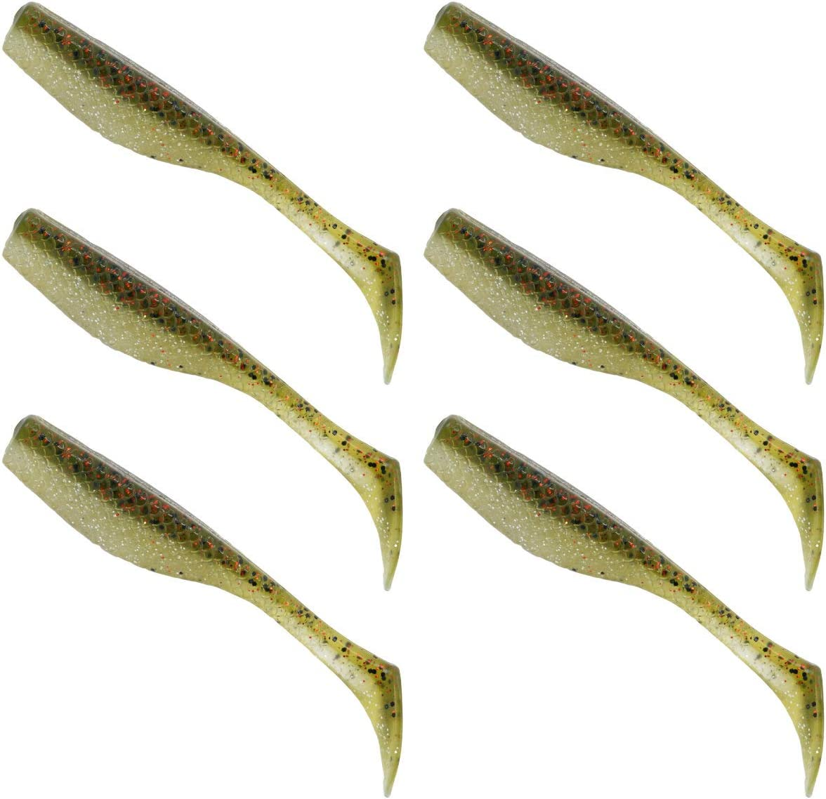 Matrix At the price Shad Special sale item MEGA 4 Inch Fishing Redfis Lure Speckled Trout