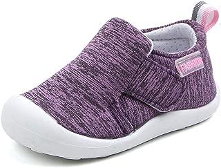 Baby Boys Girls Sneakers Anti Slip Lightweight Soft Toddler First Walkers for Walking Running