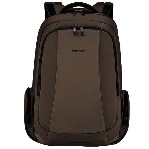 Tigernu Business Laptop Backpack Slim Anti Theft Travel Computer Backpacks  Environmentally Waterproof Laptops Bag for Men a3f77f6bd3fcb