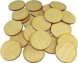 LITKO Miniatures Wargame Bases, 40mm Circular, 3mm Plywood (25)
