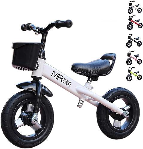 Draisiennes   Bike for Enfants -   Ride Scooter 10  Vélo pour Enfants Riding Toy   Walker Activités de Plein air intérieur 2-4 Ans ( Couleur   blanc )