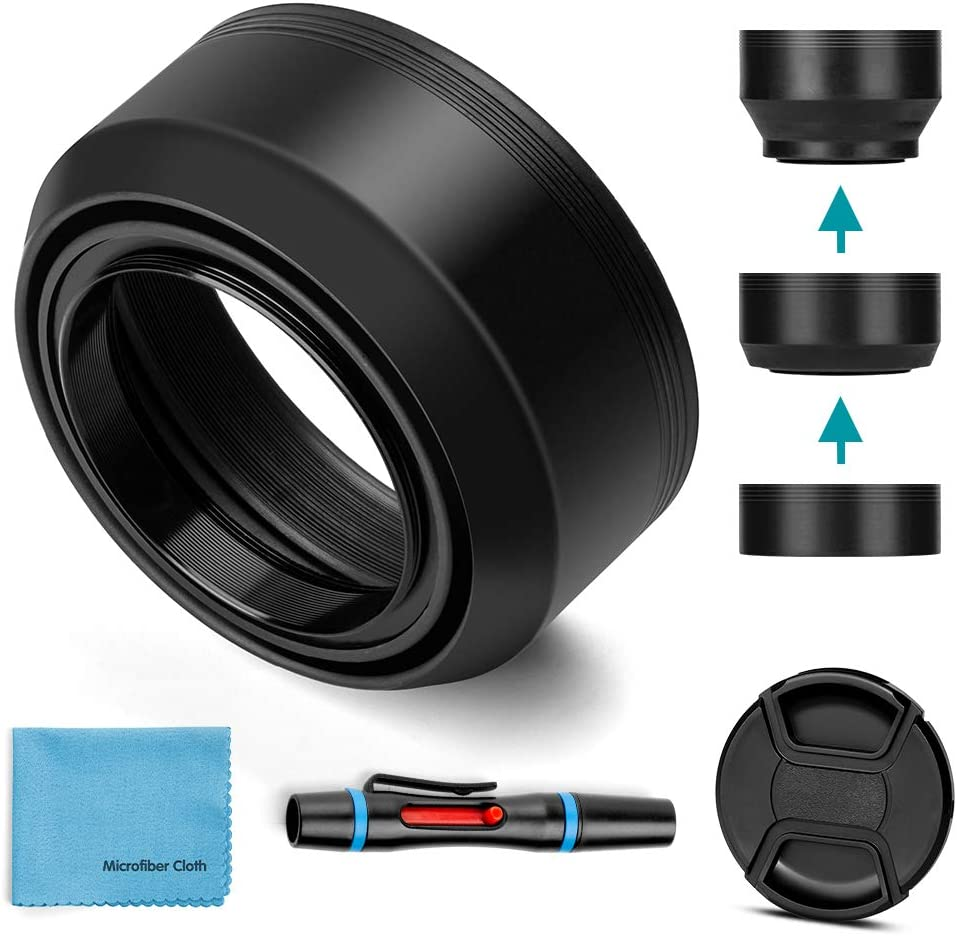 67mm Limited Special Price Lens Hood Universal Collapsible Max 45% OFF Ce Sun Shade with