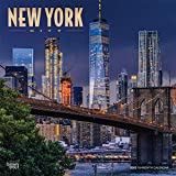 New York City 2022 12 x 12 Inch Monthly Square Wall Calendar with Foil Stamped Cover, USA United States of America NYC State Northeast