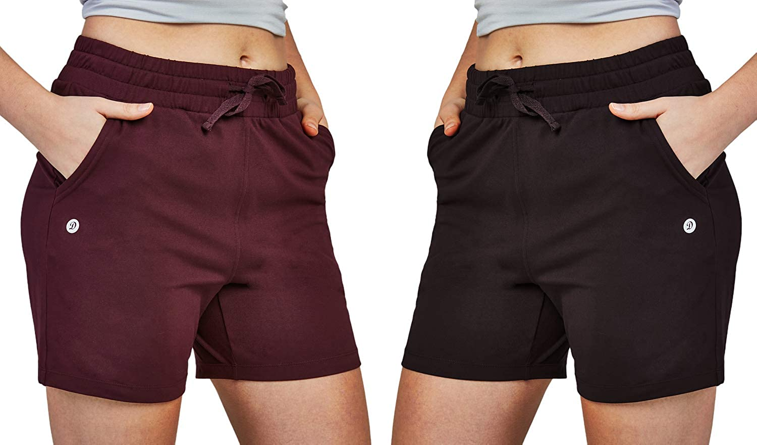 DEVOPS Women's Athletic Workout gift Sweat Pajama Short SEAL limited product Shorts Lounge