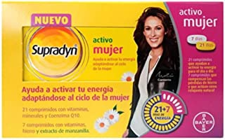 BAYER Supradyn activo mujer 28 comprimidos