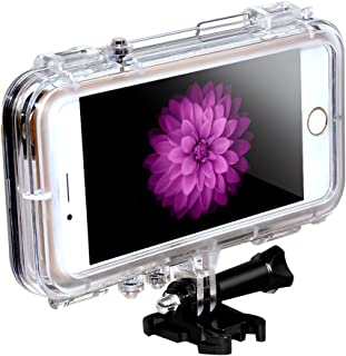 dfcbed3b1e0 Waterproof Case Shell Dive Housing for Apple iPhone 6/6s Adapt to GoPro  Mount plástico