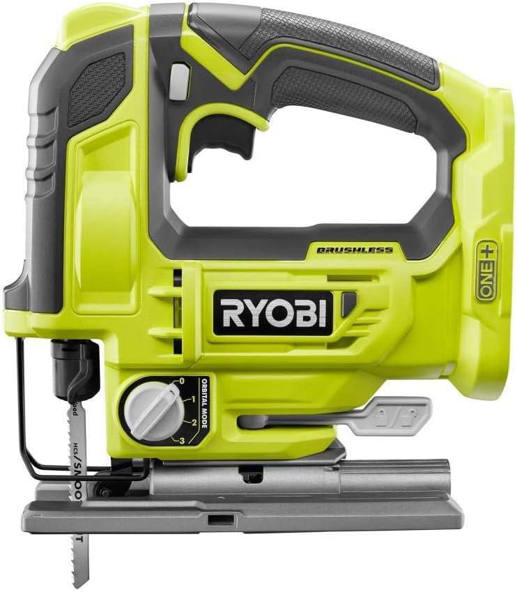 RYOBI 18-Volt ONE+ Cordless Brushless 期間限定の激安セール Jig 公式通販 Saw P524 Only Tool -