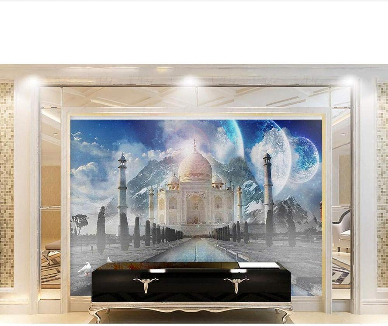 Murales de papel tapiz 3D en 3D Salón foto palacio 3D papel tapiz romano moda hermosa Murales de parojo 3D Personalizado cualquier Tamaño-200x140cm