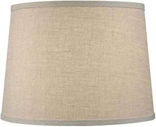 Upgradelights Sand Linen 12 Inch Uno Lamp Shade Replacement 9x12x7.5