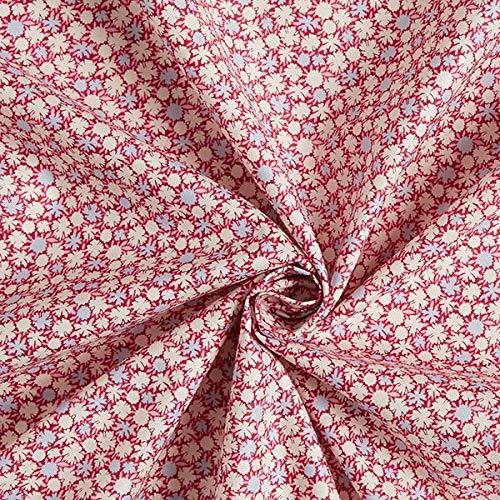 Fabulous Fabrics Tela de algodón Bird Pond Pompom – Pink/Azul ...