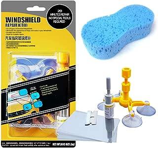 tesyyke Professional Quality Windshield Repair Kit Glass Corrector Set Crack Repairing for Car Vehicle