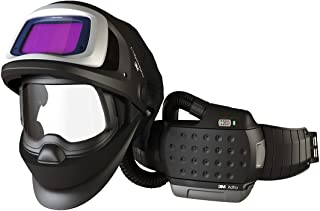 3M 36-1101-30SW Powered Air Purifying Respirator High Efficiency System with 3M Speedglas Welding Helmet 9100 FX-Air, Lithium Ion Battery, Side Windows and Auto-Darkening Filter 9100XX, Shades 5, 8-13