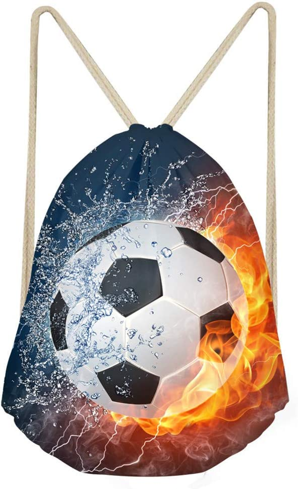 Coloranimal Mother's Day Gift 3D Ball Fire Omaha Mall Award Soccer Pattern Women
