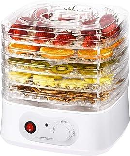 Déshydrateur automatique pour fruits, légumes et herbes - Sèche-linge Food Dryer 250 W - 8 programmes de séchage - 4 tamis...