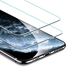 ESR Screen Protector Compatible for iPhone 11 Pro, iPhone XS/X [2 Pack] [Easy Installation Frame] [Case Friendly], Premium Tempered Glass Screen Protector for iPhone 5.8 Inch (2019)