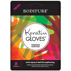 BODIPURE Premium Keratin Hand Mask Moisturizing Gloves