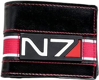 Mass Effect N7 Logo Leather Bi Fold Wallet