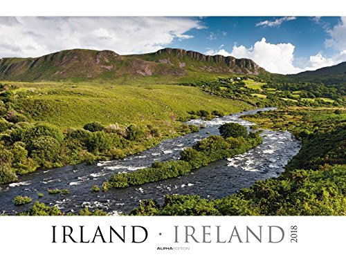 Irland 2018 - Ireland - Bildkalender XXL (64 x 48) - Landschaftskalender - Naturkalender