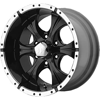 "Helo HE791 Gloss Black Machined Wheel - (16x8""/6x5.5"")"