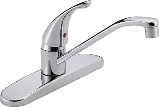 Peerless Single Handle Kitchen Sink Faucet Chrome P110lf Touch On Kitchen Sink Faucets Amazon Com