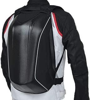 luerme Motorcycle Backpack Waterproof Multifunction for Riding, School,Sports Lightweight Riding Back Pack Shoulder Bag Carbon Fiber